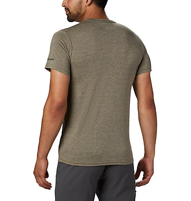 T-shirt Terra Vale™ II da uomo Terra Vale™ II SS Tee | 835 | L, New Olive Heather Grizzly Walk, back