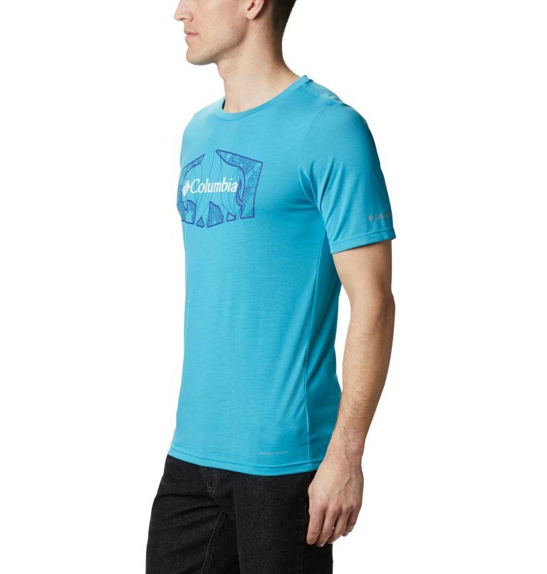 Terra Vale™ II SS Tee | 450 | S Men's Terra Vale™ II T-Shirt, Clear Water Roam Hex, a1