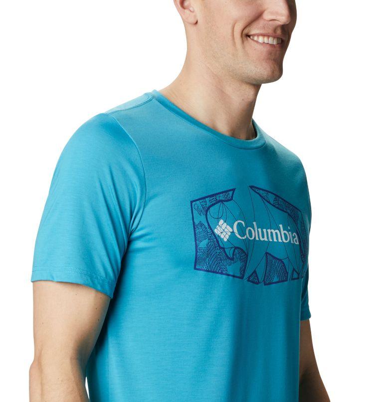 Terra Vale™ II SS Tee | 450 | S Men's Terra Vale™ II T-Shirt, Clear Water Roam Hex, a3
