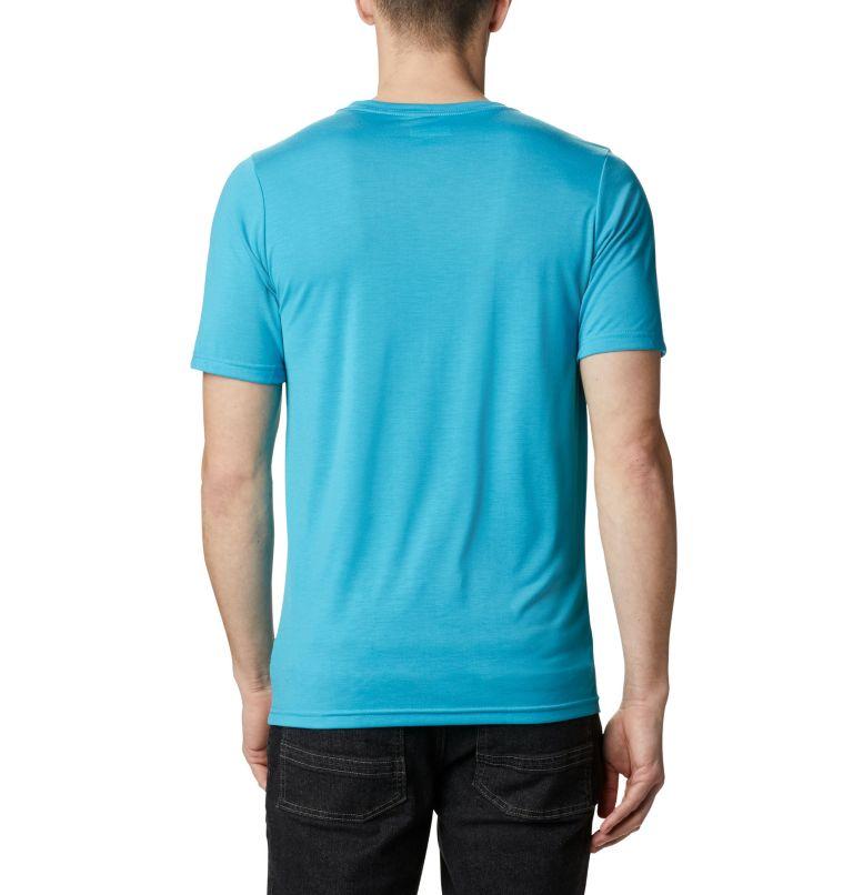 Terra Vale™ II SS Tee | 450 | S Men's Terra Vale™ II T-Shirt, Clear Water Roam Hex, back