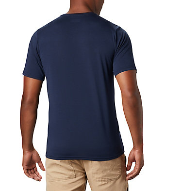Men's Terra Vale™ II T-Shirt Terra Vale™ II SS Tee | 835 | L, Collegiate Navy Grizzly Walk, back