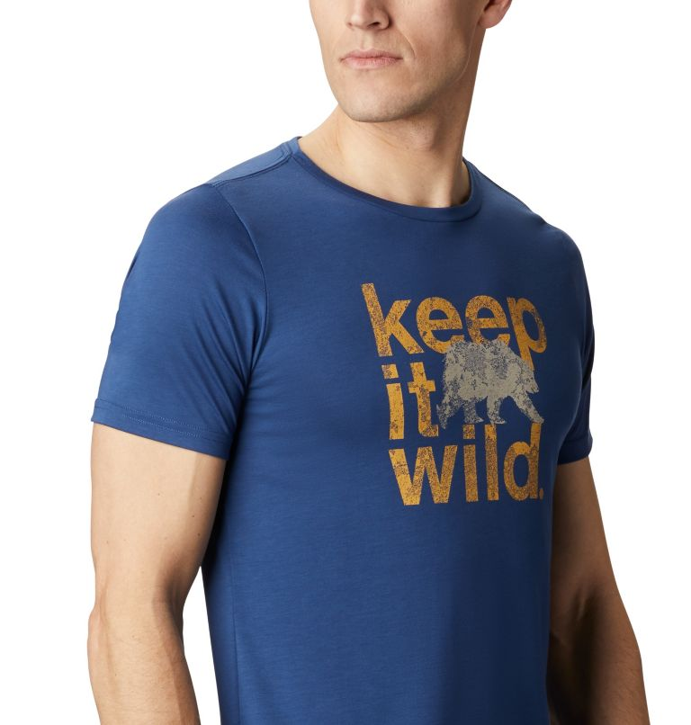 Terra Vale™ II SS Tee | 469 | XL Men's Terra Vale™ II T-Shirt, Carbon Keep It Wild, a3