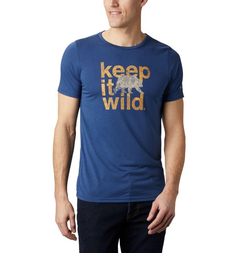 Terra Vale™ II SS Tee | 469 | XL Men's Terra Vale™ II T-Shirt, Carbon Keep It Wild, front