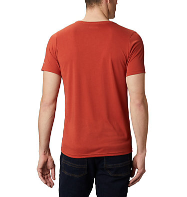 T-shirt Terra Vale™ II da uomo Terra Vale™ II SS Tee | 835 | L, Carnelian Red Keep It Wild, back