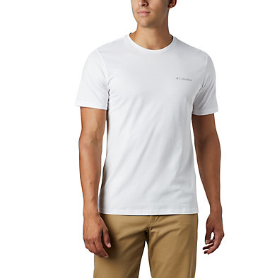 T-shirt con grafica Rapid Ridge™ da uomo M Rapid Ridge™ Back Graphic | 790 | S, White CSC Textured Dot, front