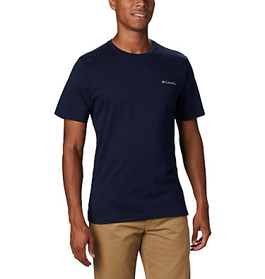 Men's Rapid Ridge™ Back Graphic M Rapid Ridge™ Back Graphic | 790 | S, Collegiate Navy CSC Textured Dot, front