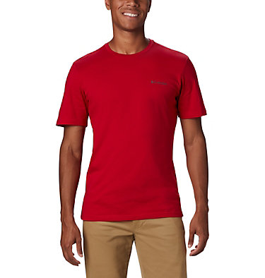 T-shirt con grafica Rapid Ridge™ da uomo M Rapid Ridge™ Back Graphic | 790 | S, Mountain Red CSC Textured Dot, front