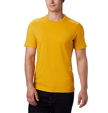 T-shirt con grafica Rapid Ridge™ da uomo M Rapid Ridge™ Back Graphic | 790 | S, Bright Gold CSC Textured Dot, front