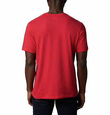 Men's Bluff Mesa™ Graphic T-Shirt M Bluff Mesa™ Graphic Tee | 613 | L, Mountain Red Outdoor Relief, back