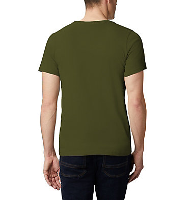 Men's Bluff Mesa™ Graphic T-Shirt M Bluff Mesa™ Graphic Tee | 790 | M, New Olive CSC Wireframe, back