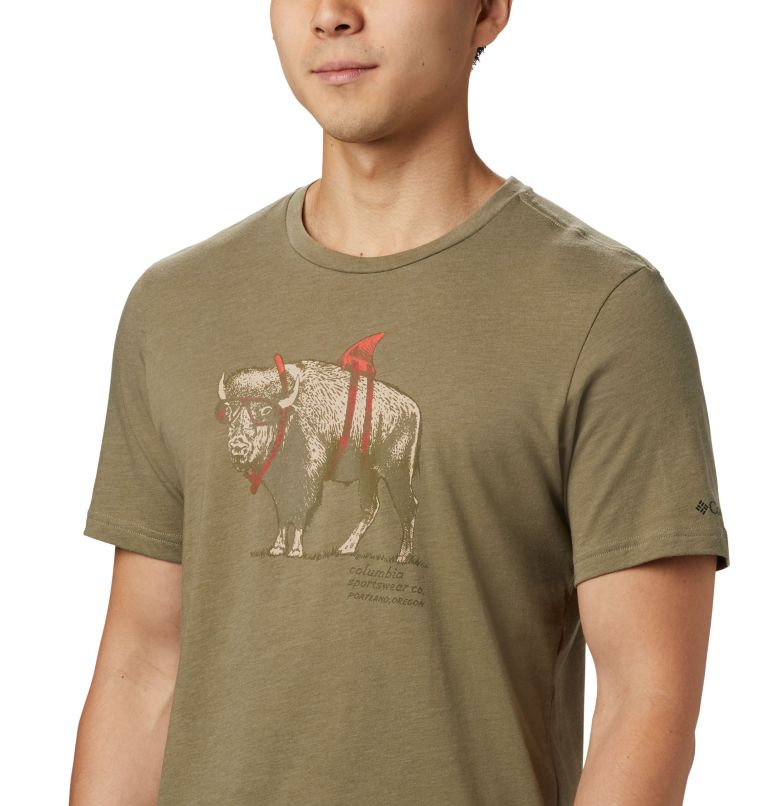 M Piney Falls™ Graphic Tee | 365 | S Men's Piney Falls™ Graphic Tee, Sage Sharkalo, a1