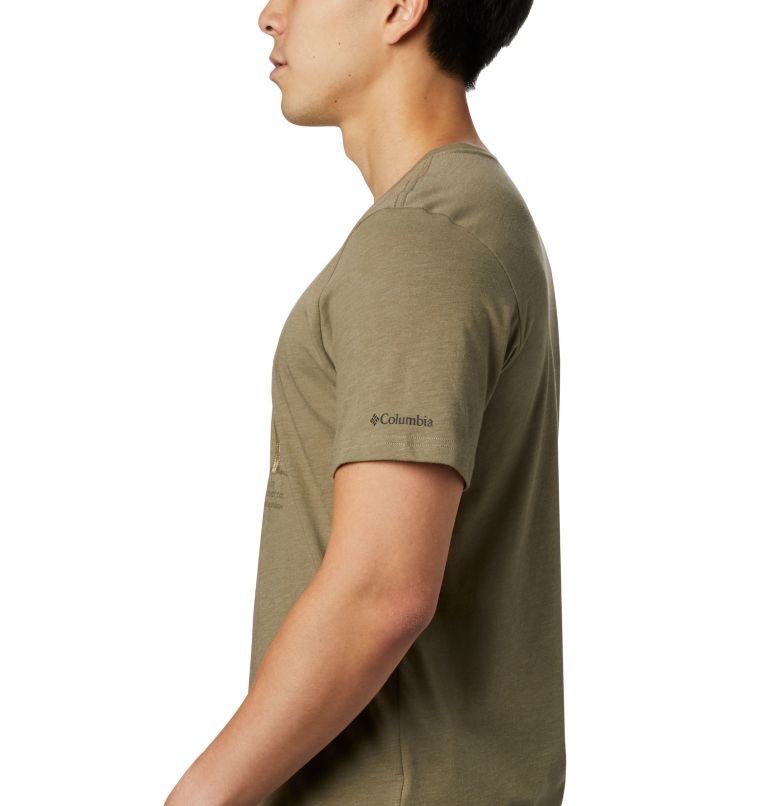 M Piney Falls™ Graphic Tee | 365 | S Men's Piney Falls™ Graphic Tee, Sage Sharkalo, a2