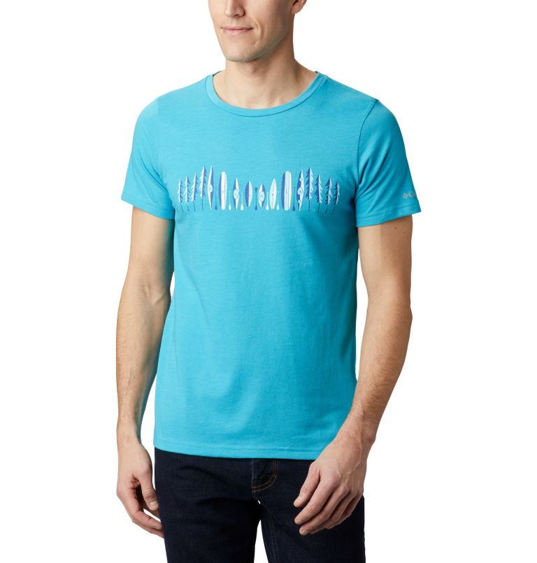 Men's Piney Falls™ Graphic Tee Men's Piney Falls™ Graphic Tee, front