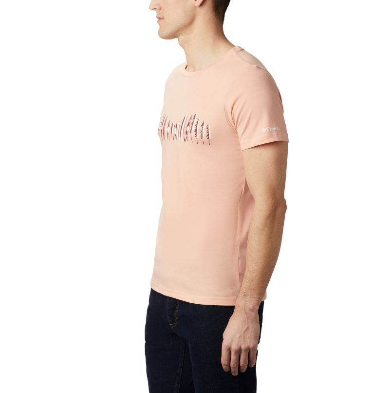 M Piney Falls™ Graphic Tee | 848 | L Men's Piney Falls™ Graphic Tee, Light Coral Paddle Life, a1