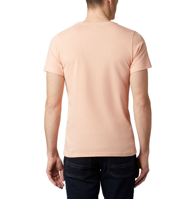 M Piney Falls™ Graphic Tee | 848 | L Men's Piney Falls™ Graphic Tee, Light Coral Paddle Life, back
