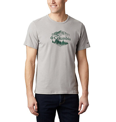 T-shirt con grafica High Dune™ da uomo M High Dune™ Graphic Tee | 327 | L, Columbia Grey Outsider, front