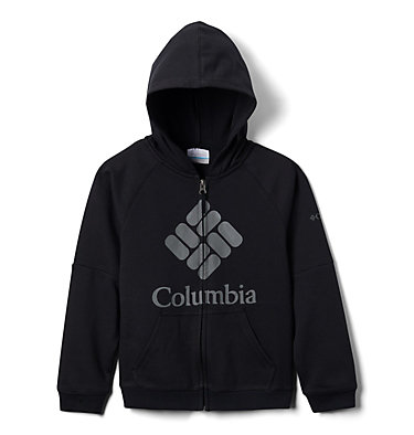 Sweat à Capuche Garçon Columbia™ BrandedFrench Terry Full Zip  | 010 | L, Black, back