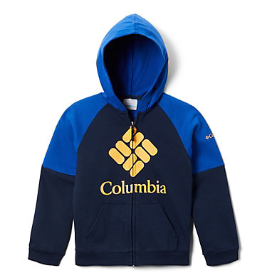 Sweat à Capuche Garçon Columbia™ BrandedFrench Terry Full Zip  | 010 | L, Collegiate Navy, Azul, back