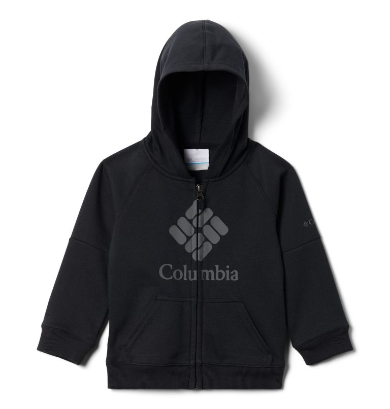 Boys' Toddler Columbia™ Branded French Terry Full Zip Hoodie Boys' Toddler Columbia™ Branded French Terry Full Zip Hoodie, front