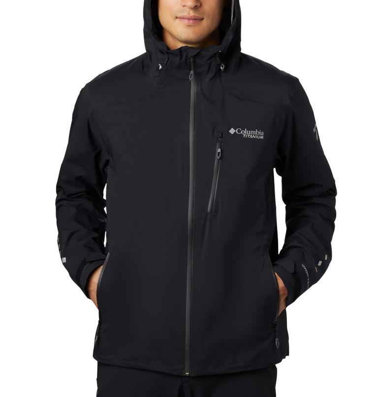 Titan Pass™ 2.5L Shell | 010 | S Men's Titan Pass™ 2.5L Shell Jacket, Black, a2