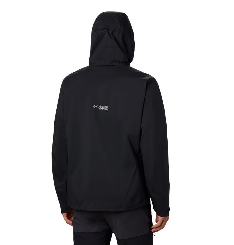 Titan Pass™ 2.5L Shell | 010 | S Men's Titan Pass™ 2.5L Shell Jacket, Black, back