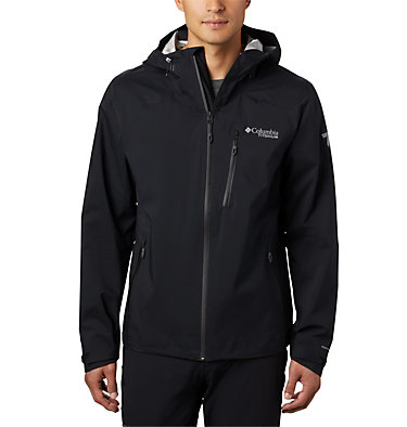 Men's Titan Pass™ 2.5L Shell Jacket Titan Pass™ 2.5L Shell | 010 | L, Black, front