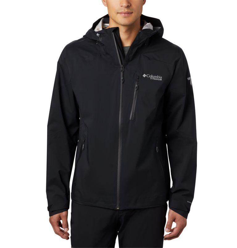 Titan Pass™ 2.5L Shell | 010 | S Men's Titan Pass™ 2.5L Shell Jacket, Black, front
