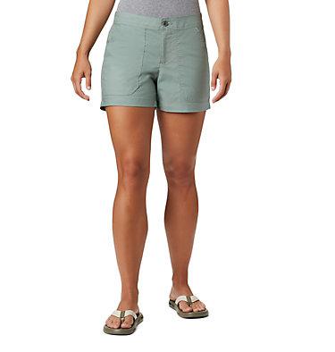 Women's Longer Days™ Shorts - Plus Size Longer Days™ Short | 160 | 10, Light Lichen, front