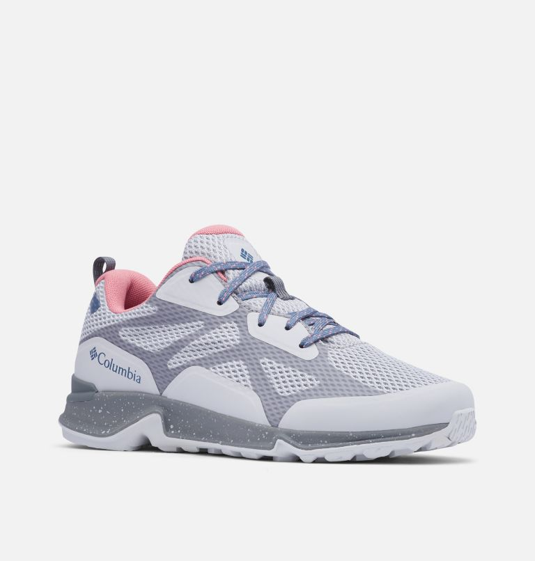 VITESSE™ OUTDRY™ | 063 | 8.5 Chaussure Vitesse™ OutDry™ Femme, Grey Ice, Canyon Rose, 3/4 front
