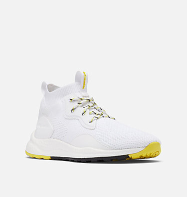 Women's SH/FT™ Mid Breeze Shoe SH/FT™ MID BREEZE | 411 | 10, White, Mineral Yellow, 3/4 front