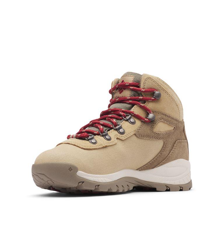 NEWTON RIDGE™ LT WP | 214 | 9.5 Women's Newton Ridge™ Canvas Waterproof Hiking Boot, Beach, Marsala Red