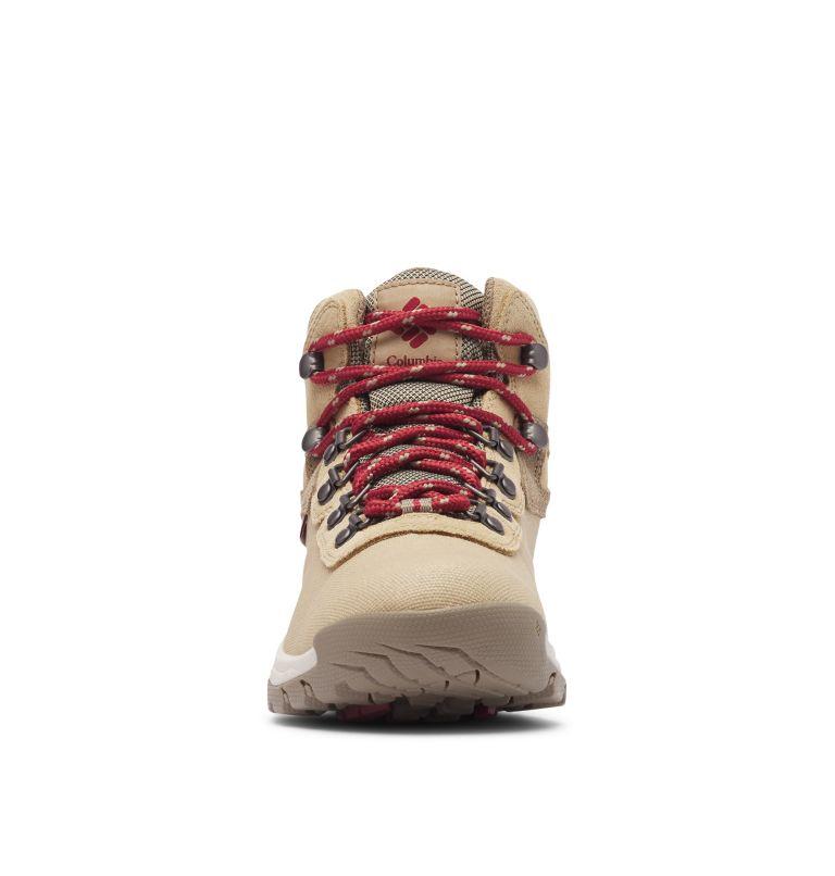 NEWTON RIDGE™ LT WP | 214 | 9.5 Women's Newton Ridge™ Canvas Waterproof Hiking Boot, Beach, Marsala Red, toe