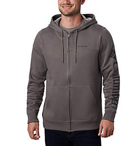 Men's Columbia™ Logo Full Zip Fleece Hoodie