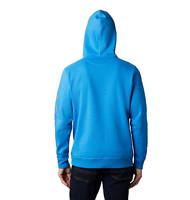 Columbia™ Full Zip Logo Fleecejacke für Herren  M Columbia™ Logo Fleece FZ | 010 | L, Azure Blue Heather, Wildfire, back