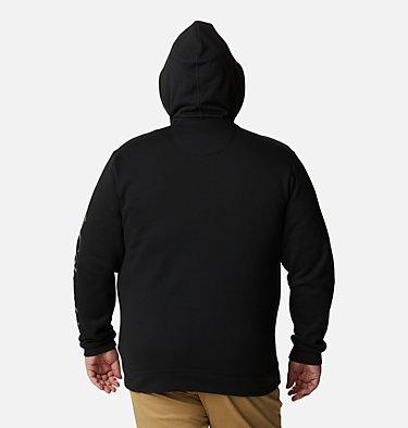Men's Columbia™ Logo Full Zip Fleece – Big M Columbia™ Logo Fleece FZ | 023 | 1X, Black, City Grey, back