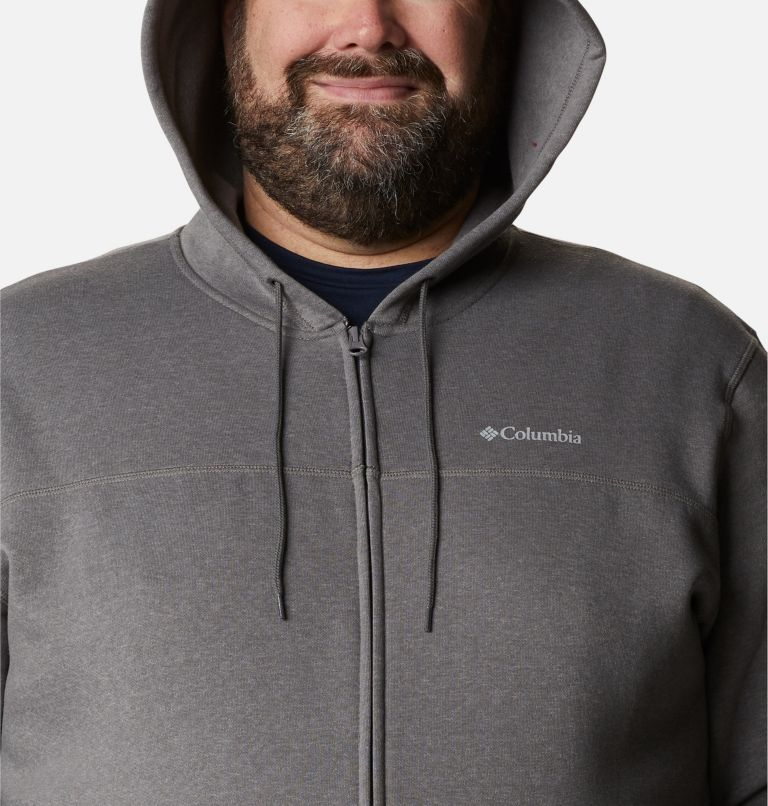 M Columbia™ Logo Fleece FZ | 023 | 2X Men's Columbia™ Logo Full Zip Fleece – Big, City Grey Heather, Columbia Grey, a2