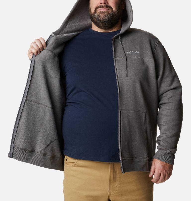 Men's Columbia™ Logo Full Zip Fleece Hoodie - Big Men's Columbia™ Logo Full Zip Fleece Hoodie - Big, a3