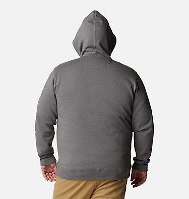 Men's Columbia™ Logo Full Zip Fleece – Big M Columbia™ Logo Fleece FZ | 023 | 1X, City Grey Heather, Columbia Grey, back