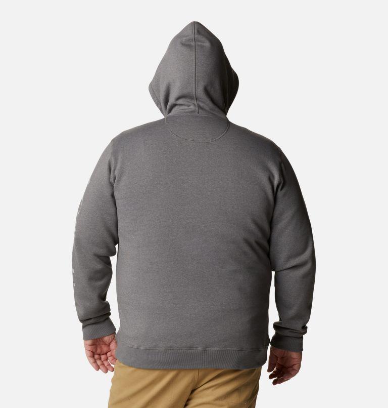 Men's Columbia™ Logo Full Zip Fleece Hoodie - Big Men's Columbia™ Logo Full Zip Fleece Hoodie - Big, back
