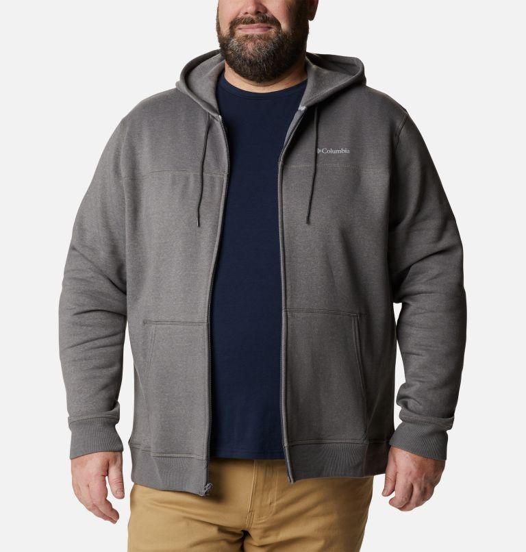 Men's Columbia™ Logo Full Zip Fleece Hoodie - Big Men's Columbia™ Logo Full Zip Fleece Hoodie - Big, front