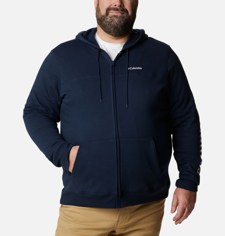 Men's Columbia™ Logo Full Zip Fleece – Big Men's Columbia™ Logo Full Zip Fleece – Big, front