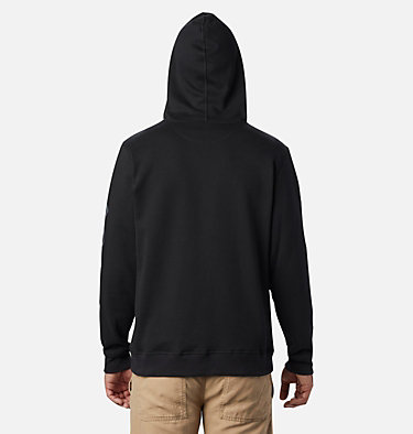 Men's Columbia™ Logo Fleece Hoodie M Columbia™ Logo Fleece FZ | 010 | S, Black, City Grey, back