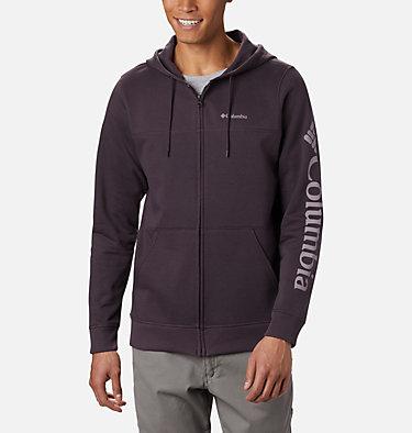 Men's Columbia™ Logo Fleece Hoodie M Columbia™ Logo Fleece FZ | 010 | S, Dark Purple, Shale Purple, front