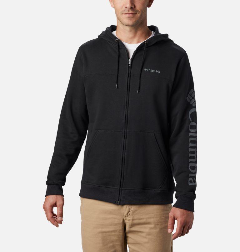Men's Columbia™ Logo Full Zip Fleece Hoodie - Tall Men's Columbia™ Logo Full Zip Fleece Hoodie - Tall, front
