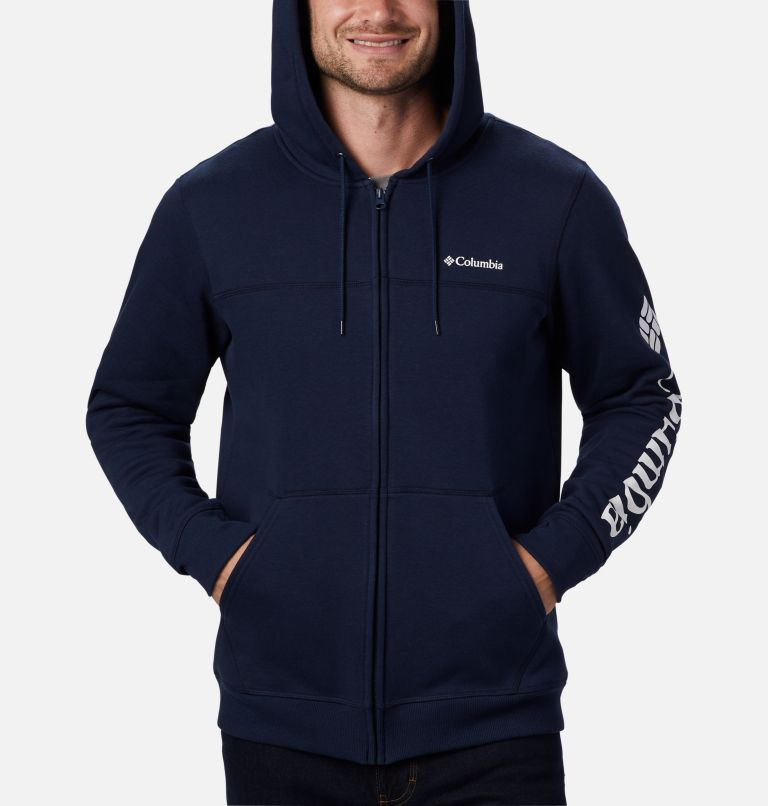 Men's Columbia™ Logo Full Zip Fleece – Tall Men's Columbia™ Logo Full Zip Fleece – Tall, a2
