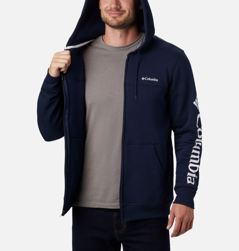 Men's Columbia™ Logo Full Zip Fleece – Tall Men's Columbia™ Logo Full Zip Fleece – Tall, a3