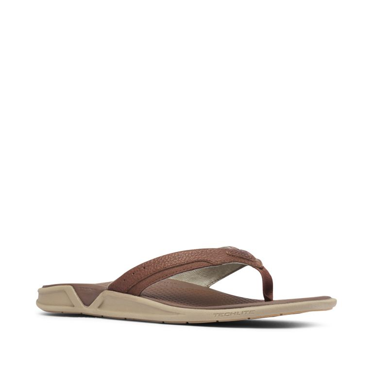 Men's PFG Rostra™ II Leather Flip Flop Men's PFG Rostra™ II Leather Flip Flop, 3/4 front