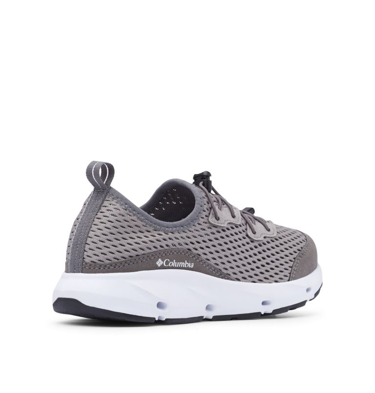 YOUTH COLUMBIA VENT™ | 029 | 5 Big Kids' Columbia Vent™ Shoe, Ti Titanium, White, 3/4 back