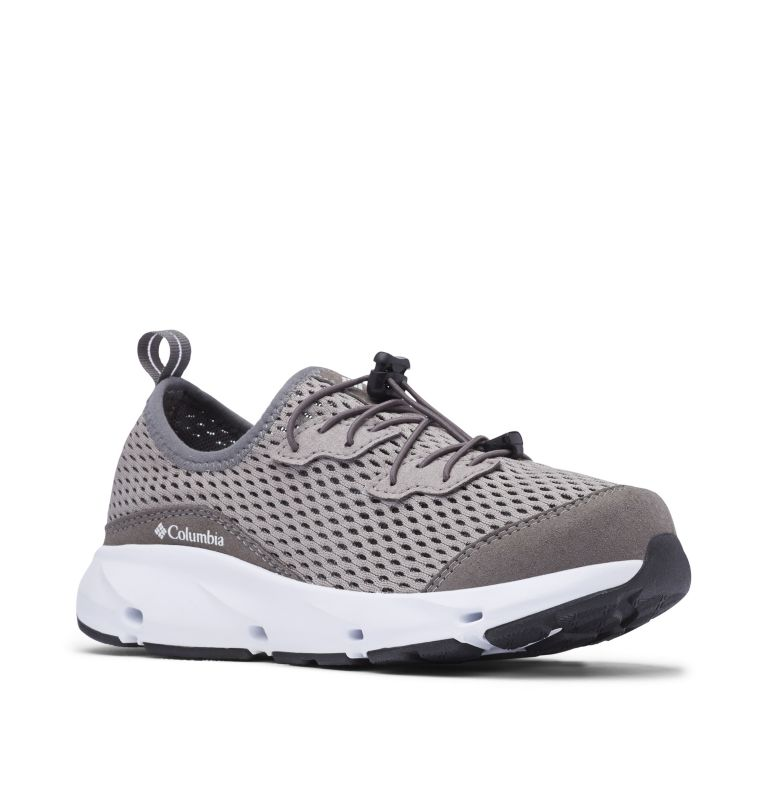 YOUTH COLUMBIA VENT™ | 029 | 2 Big Kids' Columbia Vent™ Shoe, Ti Titanium, White, 3/4 front