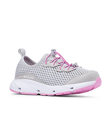 Big Kids' Columbia Vent™ Shoe YOUTH COLUMBIA VENT™ | 063 | 1, Grey Ice, Orchid, 3/4 front